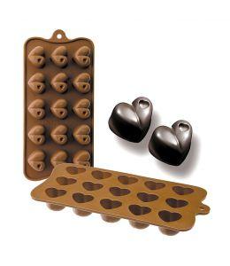 Molde silicona para chocolates
