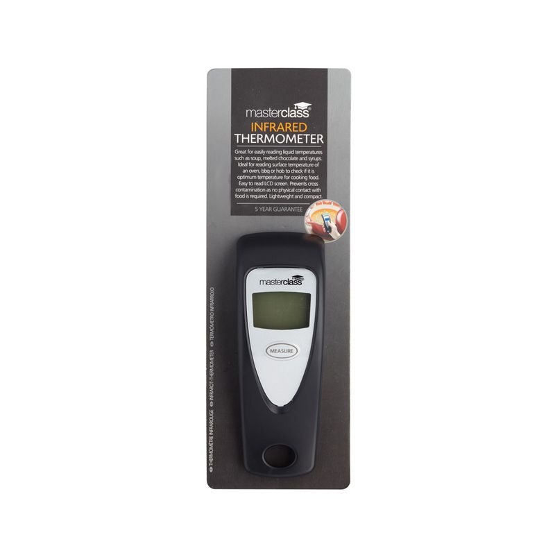 Thermom tre infrarouge kitchen craft 0 c 250 c - Thermometre infrarouge cuisine ...