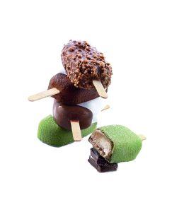 Molde silicona para helados