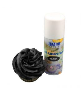 Edible Lustre Spray BLACK -...