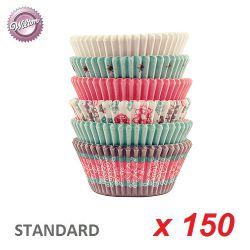 "Caissettes cupcakes ""Snowflake"" x 150"