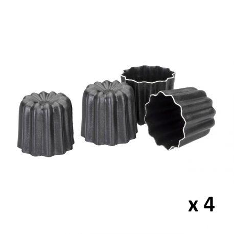 Non Stick Cannele Mold X4 Ibili 216 6cm