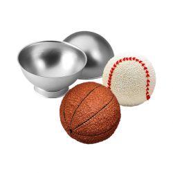 """Moule à gâteau """"Balle de sport 3D"""" - WILTON"""