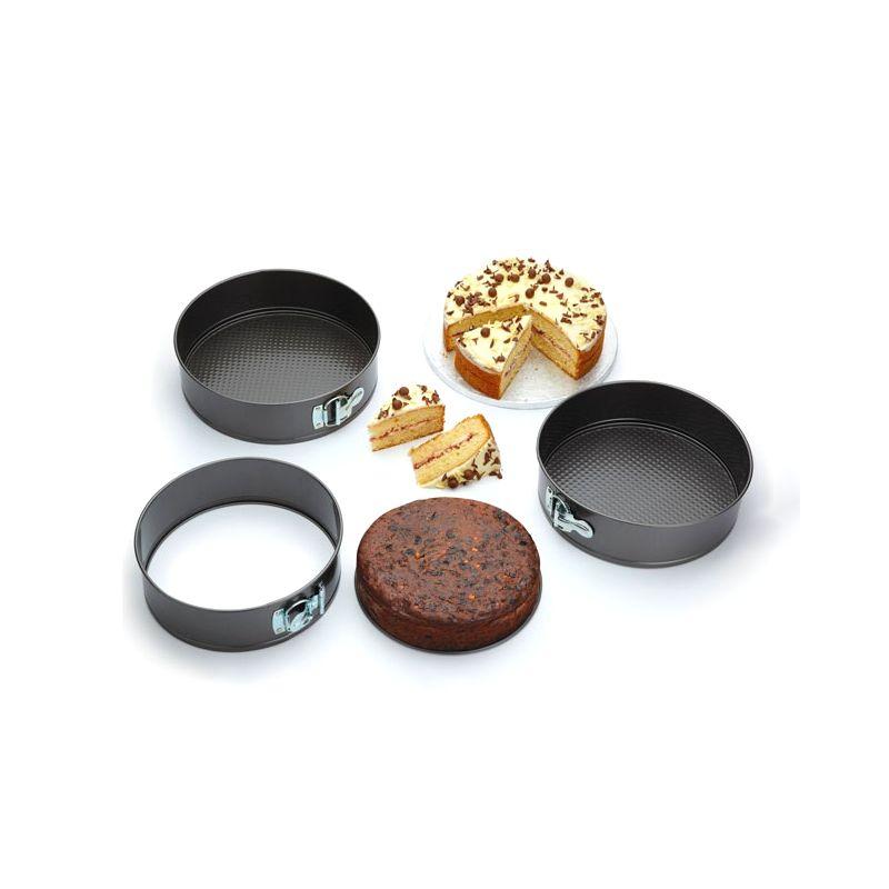 Moldes para tarta redondos los utensilios del chef for Utensilios del chef