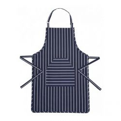 Blue Butcher's Stripe Apron