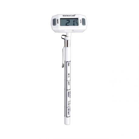 "Digital Kitchen Thermometer ""ECO"""