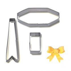 "Cookie/Pastry Cutters ""Bow""..."