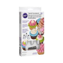 Set para decorar Cupcake - 12 piezas