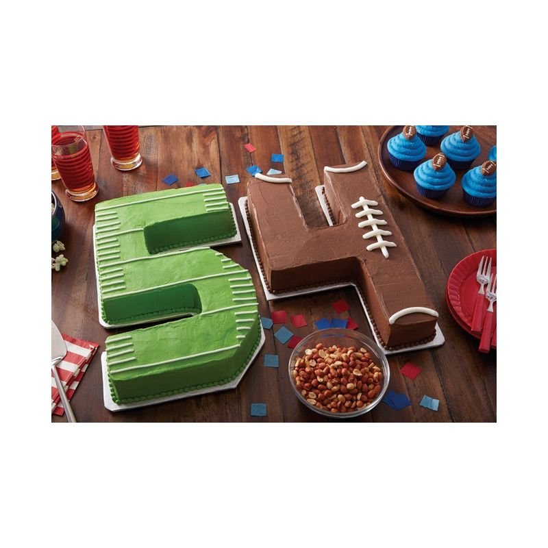 Numbers Amp Letters Cake Pan Wilton 38 X 23cm