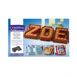 Numbers & Letters Cake Pan - WILTON
