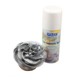Edible Lustre Spray SILVER - PME