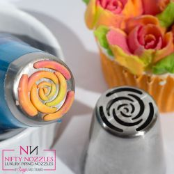 "Decorating Tip ""Rose"" - NIFTY NOZZLES"