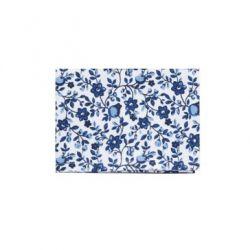 Tablier motif floral Bleu