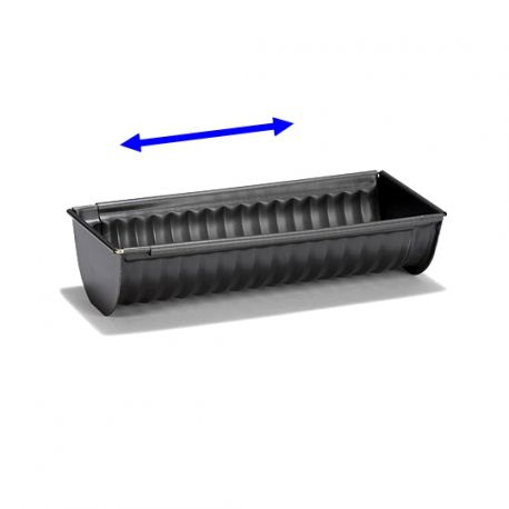 Adjustable Wavy Log Pan
