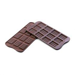 "Silicone Chocolate Mold ""Mini Chocolate Bars"""