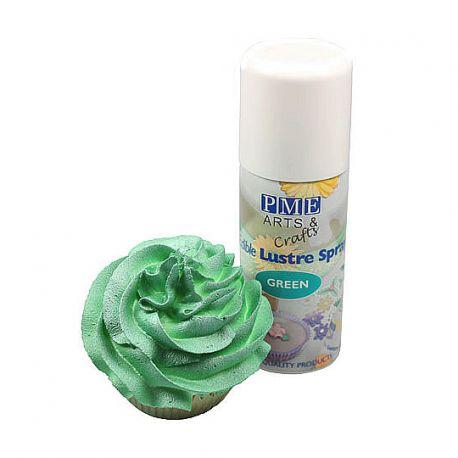 Edible Lustre Spray GREEN - PME