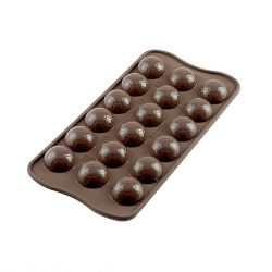 """Moule silicone pour chocolat """"Ballon de foot"""""""