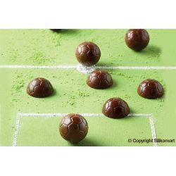 """Molde silicona para chocolates """"Balón de fútbol"""""""