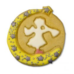 """Cookie/Pastry Cutters """"Angel with Trumpet"""""""