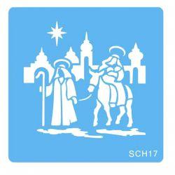 "Stencil ""Nativity"""