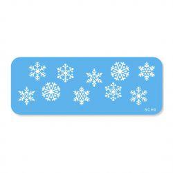 "Stencil ""Snowflakes"""