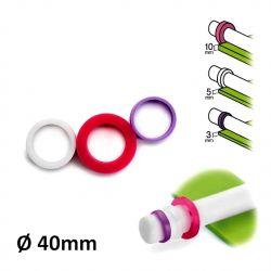 Rolling Pin Guide Rings - ø 4cm