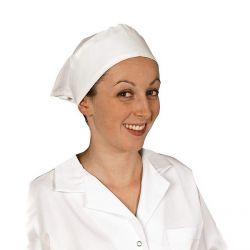 Coiffe de cuisinière pour femme
