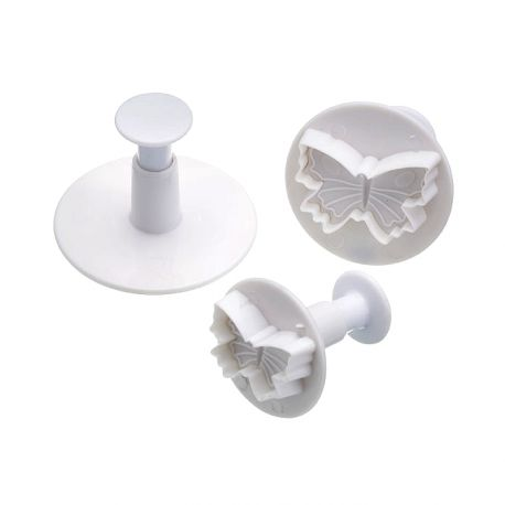 3 Plunger Cutters - Butterfly