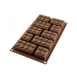 """Molde silicona para chocolates """"Block"""""""