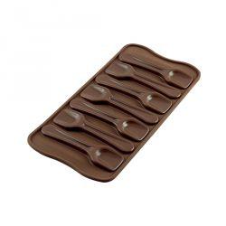 """Molde silicona para chocolates """"Cuchara"""""""