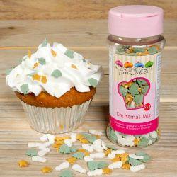 """Multicoloured Sugar Confetti - """"CHRISTMAS"""""""