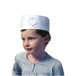 Calot de cuisinier jetable - Enfant