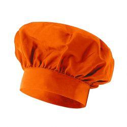 "Gorro de Chef - ""Victor"" - Naranja"