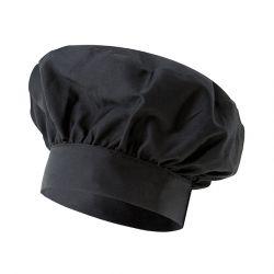 """Gorro de Chef - """"Victor"""" - Negro"""