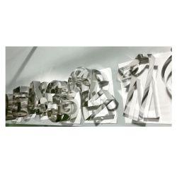 Molde / Aro de reposteria - NÚMEROS / LETRAS