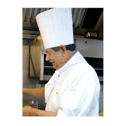 Tour de cou cuisinier - BLANC
