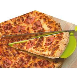 Tijeras-pala para pizza 2 en 1
