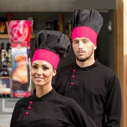 """Toque cuisinier """"Dominique"""""""