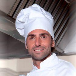 "Chef Hat - ""Luigi"" - White"