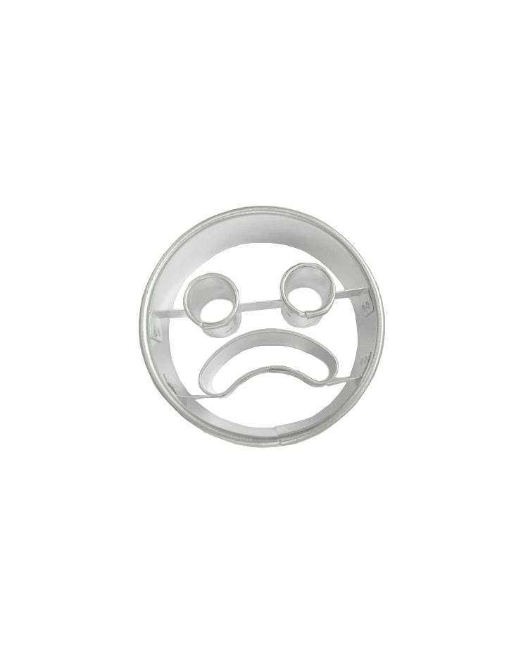 "Cookie/Pastry Cutters ""Sad Face"""