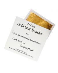 Hoja de oro comestible