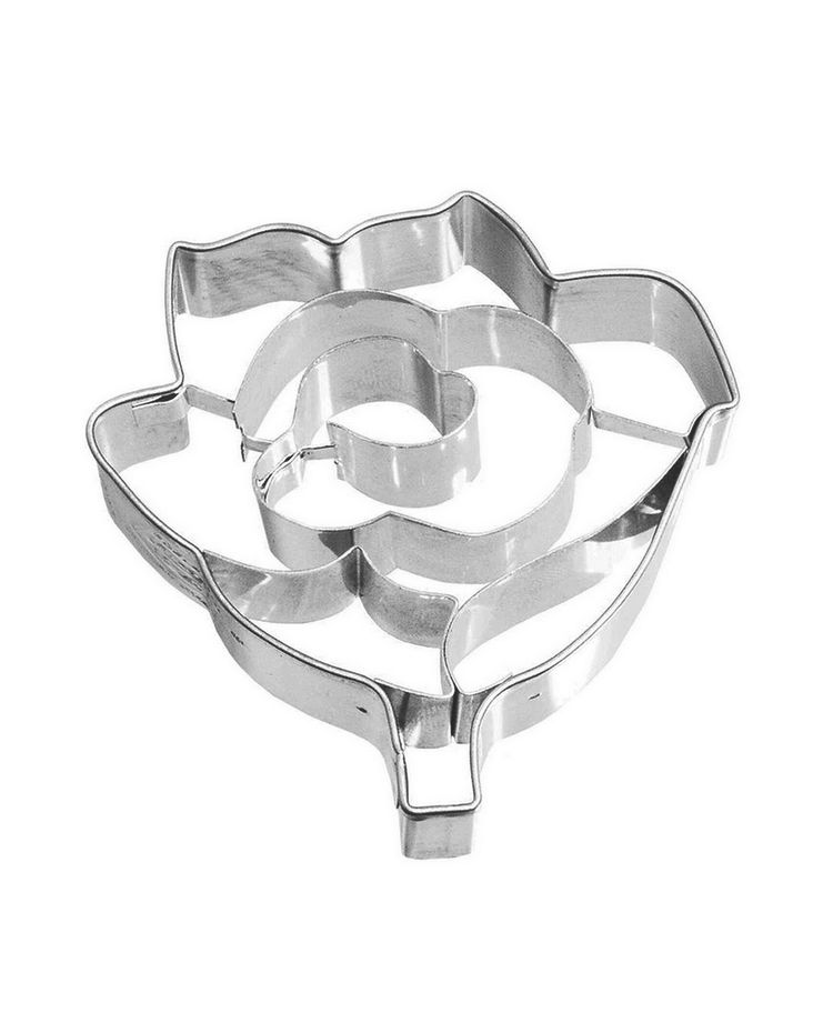 """Cookie/Pastry Cutters """"Rose"""""""