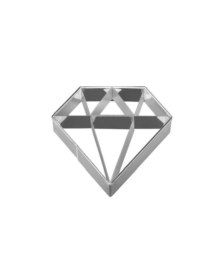 """Emporte-pièce """"Diamant"""" - BIRKMANN - 6cm"""