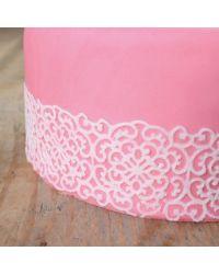 Powder mix for making sugar laces - WHITE