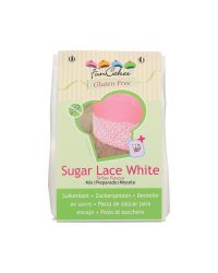 Powder mix for making sugar laces - WHITE