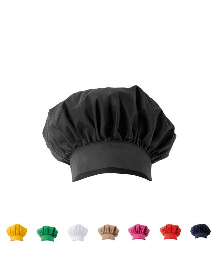 "Chef Hat - ""Emile"" - Color : black"