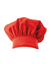 "Chef Hat - ""Emile"" - Red"