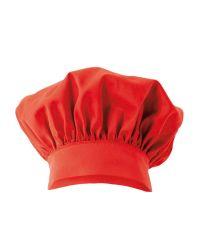 """Toque cuisinier """"Emile"""" - Rouge"""