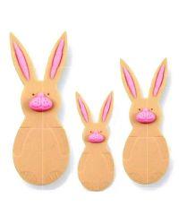 3 Plunger Cutters - Rabbit