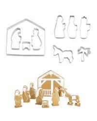 "Set 10 Cookie Cutters ""Holy Family"" - EDDINGTONS - 4-19cm"